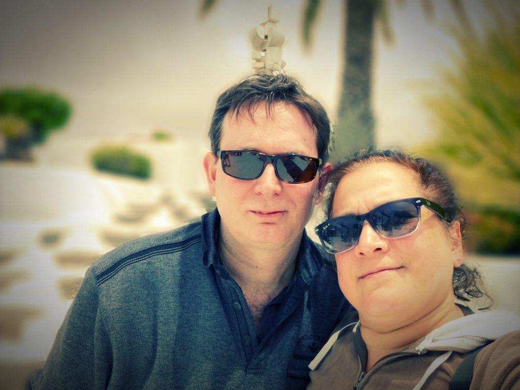 Hans en Astrid op Lanzarote
