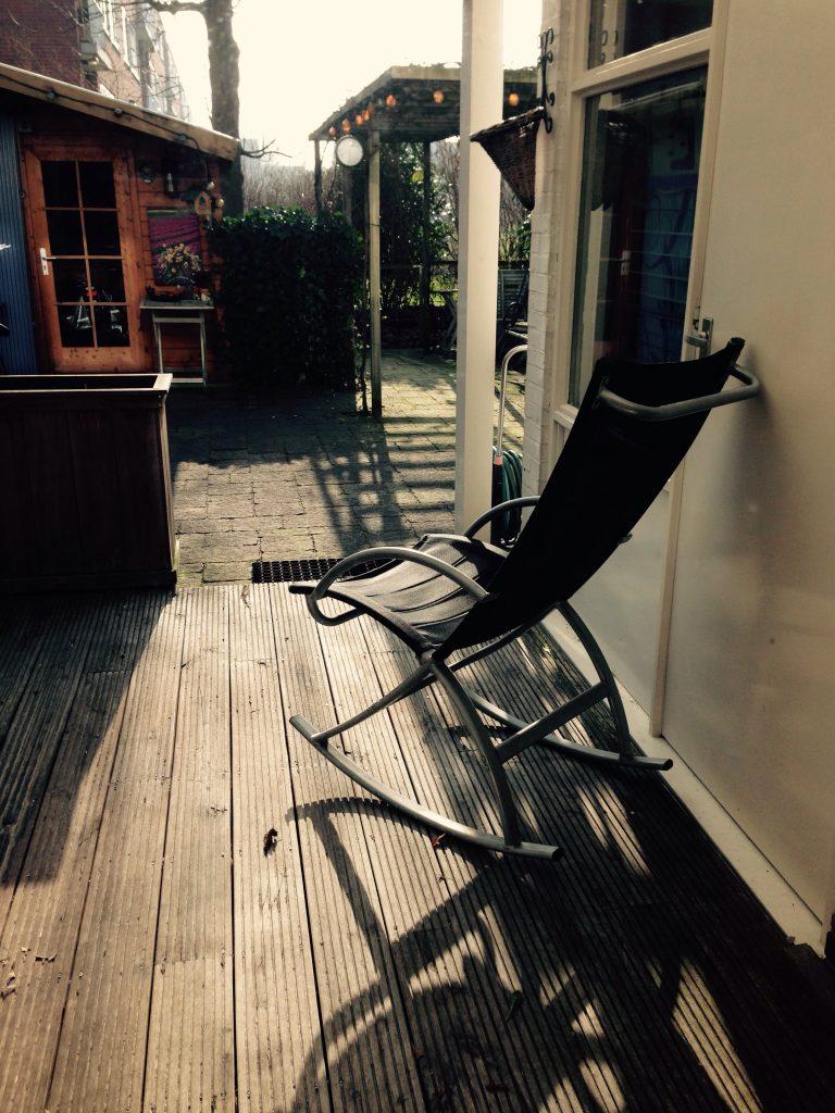 mijn schommelstoel